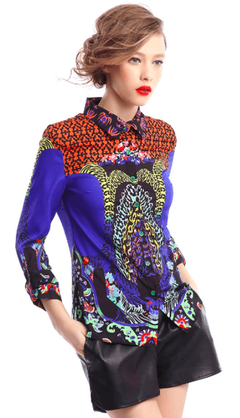 High-end Retro Blouse-Alessio Eno-JetSet