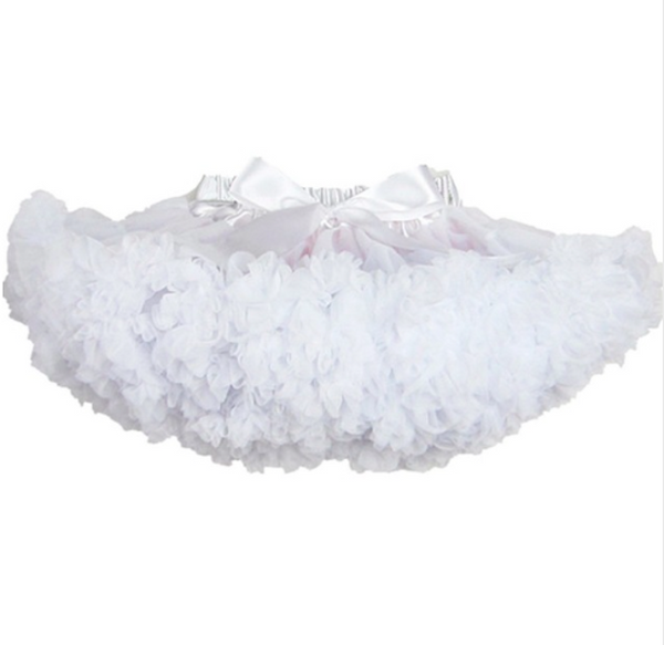 Fluffy 2-18 Years Chiffon Solid Colors Tutu Skirts-Alessio Eno-JetSet