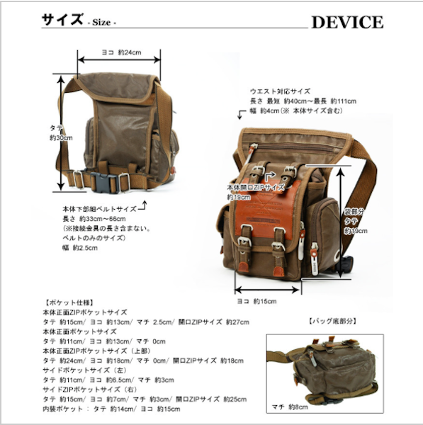 Military Fun Pouch DEVICE Bag-SDI-JetSet