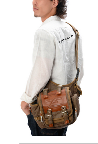 Man's Military DEVICE Shoulder Bag-SDI-JetSet