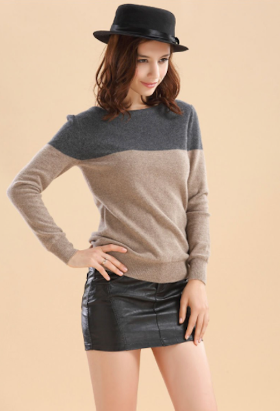 Hot Sale Women Sweater Autumn Casual Striped Cashmere Sweater Fashion Pullover Spring Tops Knitwear Undershirt S-2XL-JetSet-JetSet