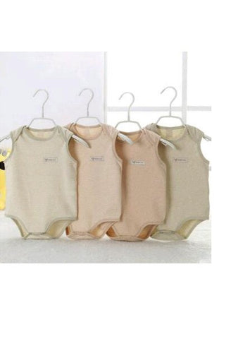 Natural Organic Cotton Baby Jumpsuit-AE-JetSet