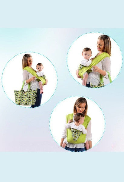 Organic Cotton Cangaroo Baby Carrier-AE-JetSet