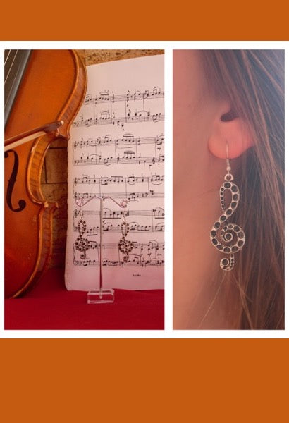 Musical Earrings-JetSet-JetSet