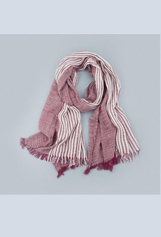 High Quality Unisex Brand Striped Scarf Spring Autumn Warm Soft Scarves Women Fashion Shawls Cotton Tassel Scarves Bufandas