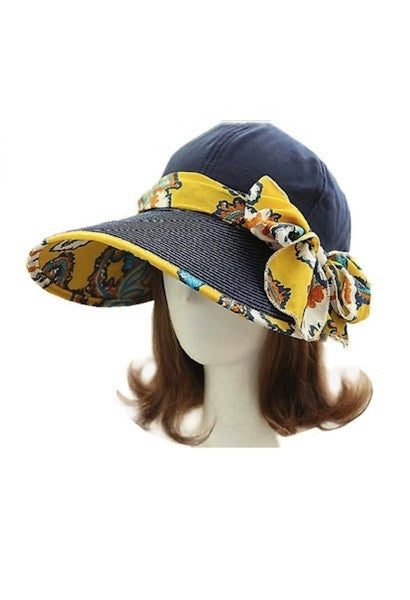 Foldable Anti-UV Wide Big Brim Adjustable Sun Hat-AE-JetSet