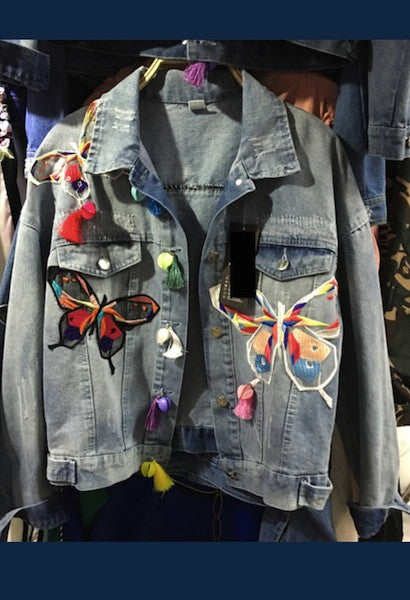 Denim Butterfly Jacket-AE-JetSet