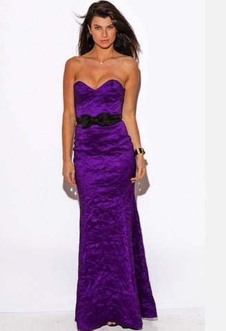 PURPLE SWEETHEART FORMAL GOWN EVENING DRESS-WSF-JetSet