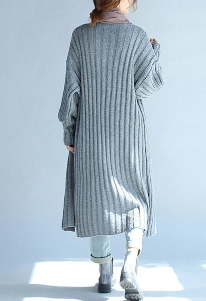 Long Knitted Autumn Cardigan-DL-JetSet