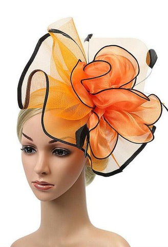 Women Sinamay Fascinator Fashion Headwear Ladies Elegante Band Cocktail Party Hat Wedding Church Kentucky Derby Royal Head bands