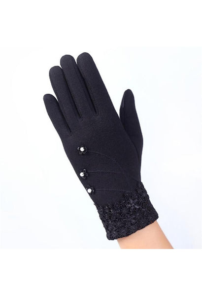 20 Colors Fashion Women Gloves Winter Fitness Women Guantes Mujer New 2016 Phone Touch Screen Outdoor Wrist Mittens Warm Gloves-JetSet-JetSet
