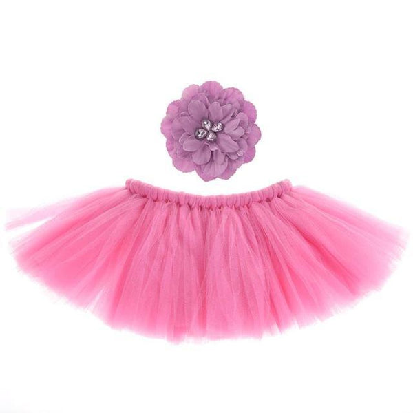 Baby Newborn Photography Props Photo Props For Baby Photography Accessories Pink Tutu Skirts Set Children 's Hats Fotografia-JetSet-JetSet