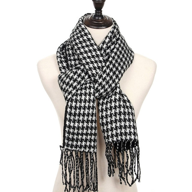 Men/'s Cashmere Winter Scarf Autumn Male Casual Warm Scarf Luxury Scarves 4 Color