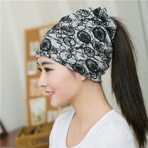 New arrival 2 Use Cap Knitted Scarf & Winter Hats for Women Letter Beanies Women Warm Skullies girls Gorros women Beanies-JetSet-JetSet