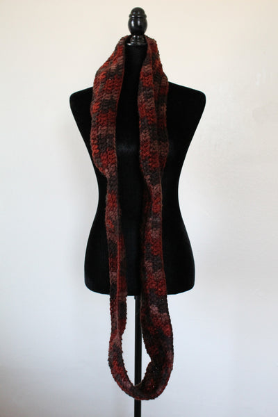 Earth tone Infinity Scarf