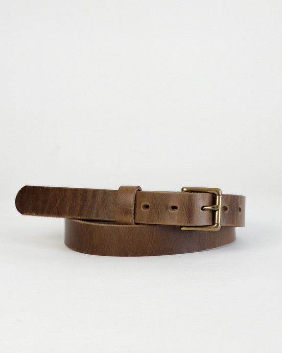 Horween Natural Chromexcel leather Zach belt