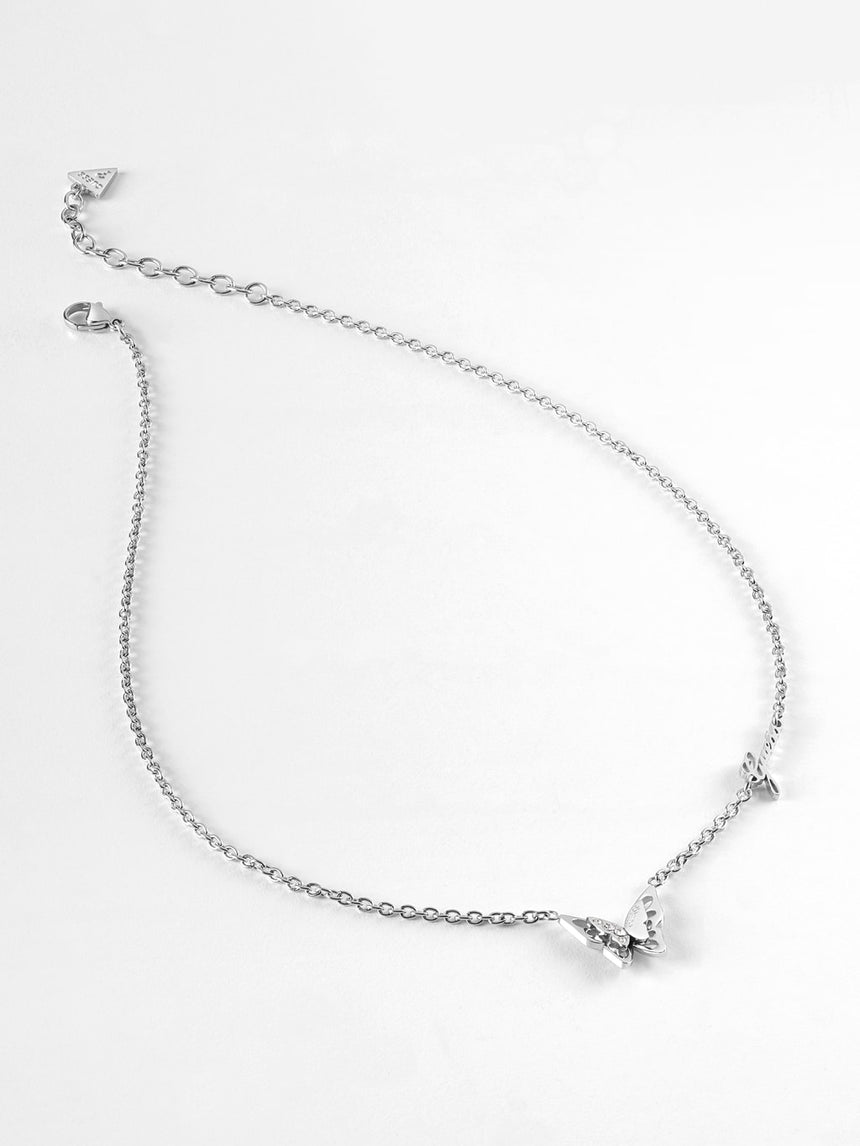 Collar Fly Away Plata - Guess