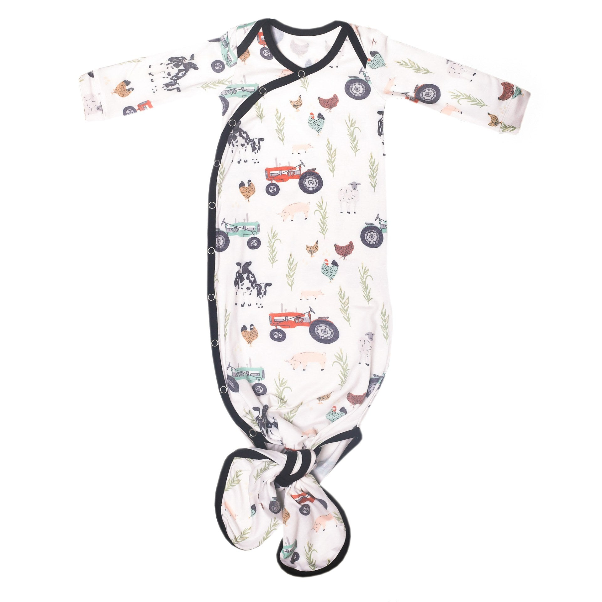 Jo Newborn Knotted Gown