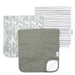 Alta 3-Pack Burp Cloths