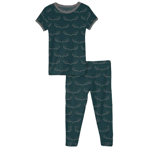 Pine Deer Rack Pajama Set