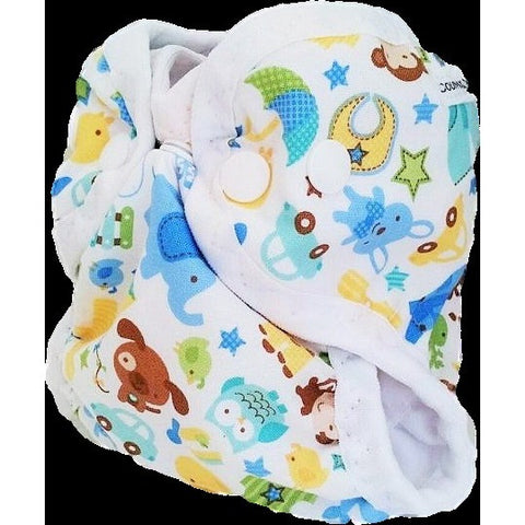 baby animal cloth diaper cover