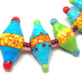 Bi-Cone Drop Trio Large