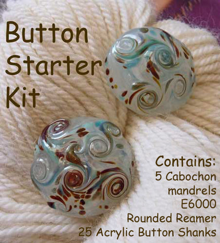 Button Kit - Cabochon Mandrel