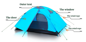 Compact All Adventure Dome Tent - 123 Express Shop - 3