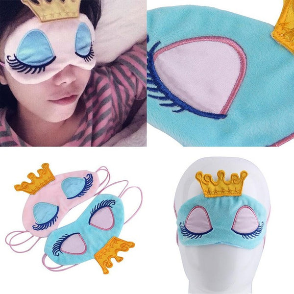 Sleeping Eye/Crown Sleep Mask - 123 Express Shop - 1