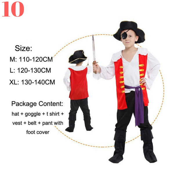 Boys Pirate Costume Sets - Top Seller - 123 Express Shop - 11