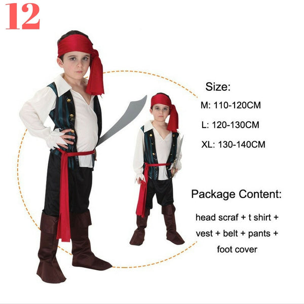 Boys Pirate Costume Sets - Top Seller - 123 Express Shop - 13