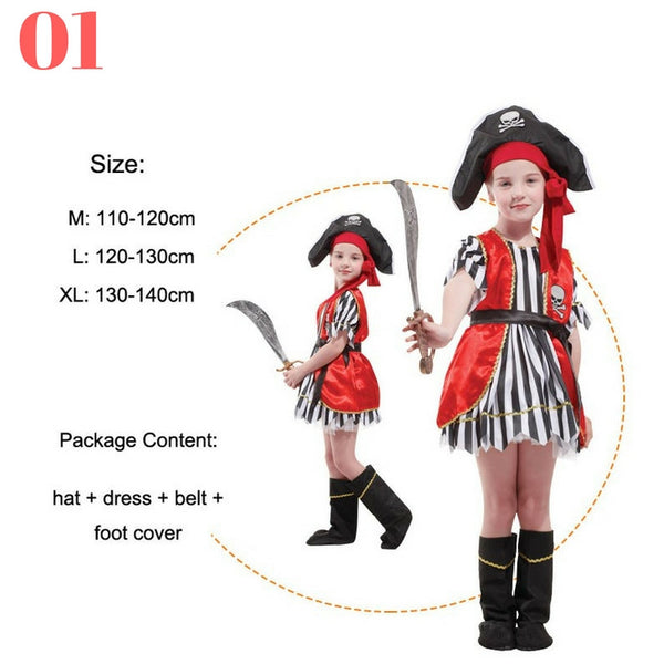 Girls Pirate Costume Sets - Top Seller - 123 Express Shop - 2