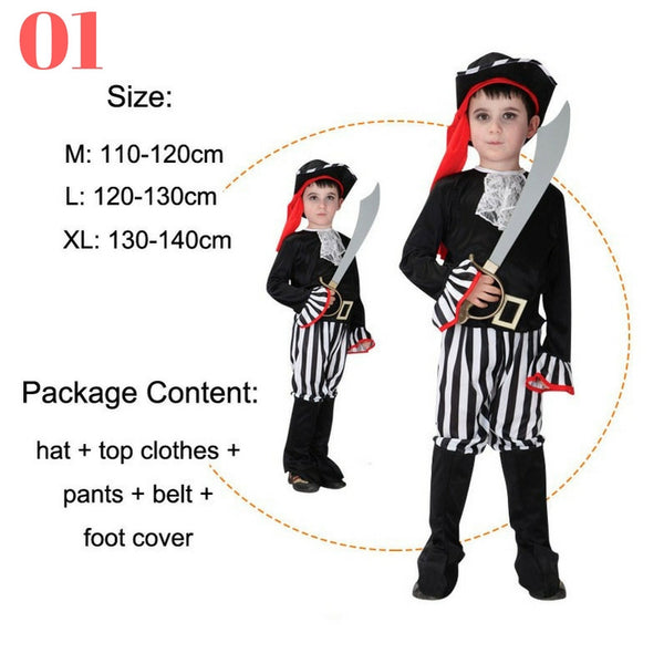 Boys Pirate Costume Sets - Top Seller - 123 Express Shop - 2