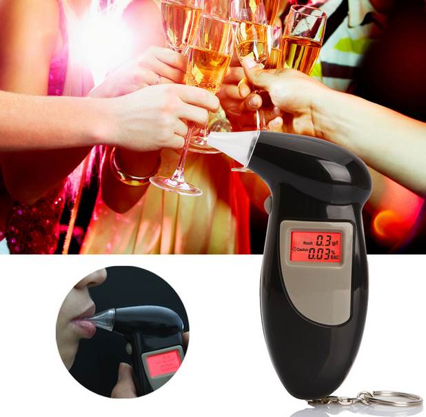 Digital Breathalyzer Keychain with LCD Screen - 123 Express Shop - 1
