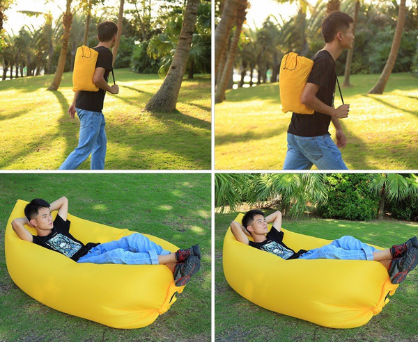 Inflatable Air Lounger - 123 Express Shop - 8