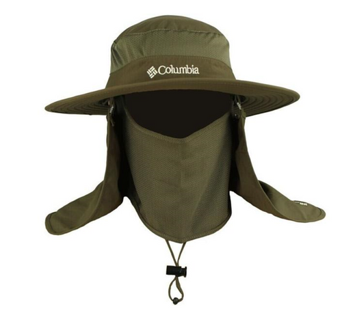 Waterproof Fishing Hat With Mosquito And Sun Protection - 123 Express Shop - 1