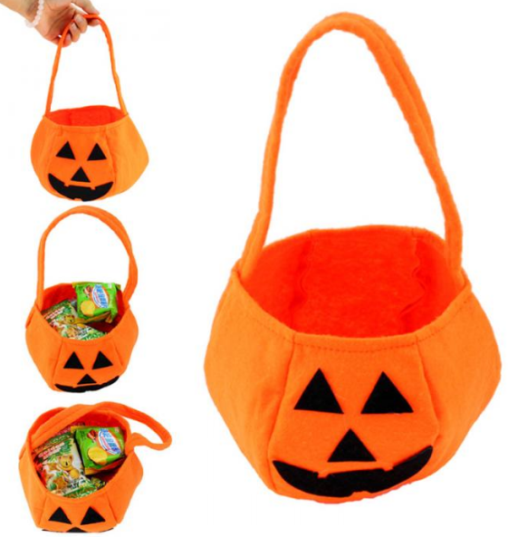 Trick-or-Treat Pumpkin Candy Bag (FREE w/ Any Costume Purchase) - 123 Express Shop - 2