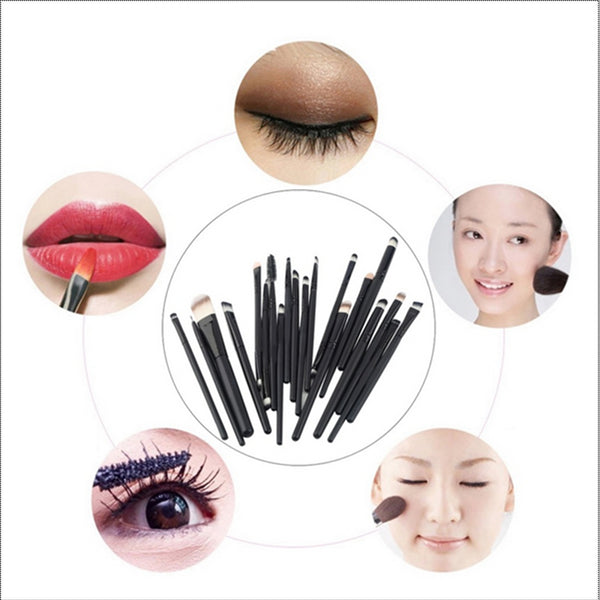 20pcs Professional Makeup Brush Set