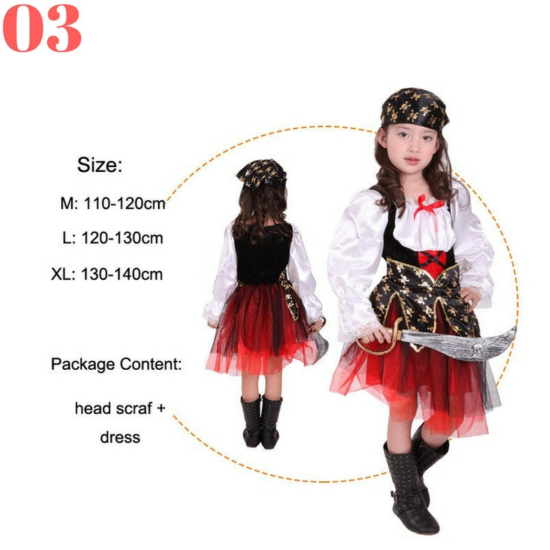 Girls Pirate Costume Sets - Top Seller - 123 Express Shop - 4