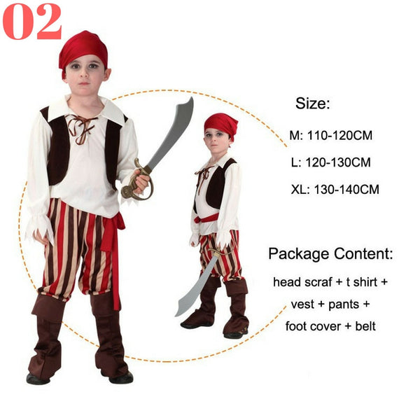 Boys Pirate Costume Sets - Top Seller - 123 Express Shop - 3