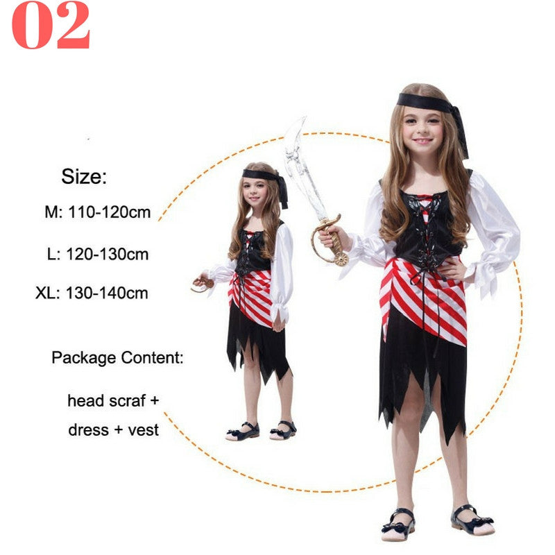 Girls Pirate Costume Sets - Top Seller - 123 Express Shop - 3