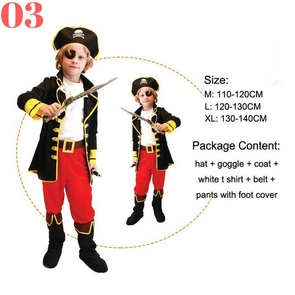 Boys Pirate Costume Sets - Top Seller - 123 Express Shop - 4