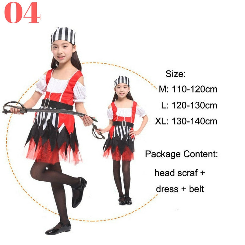 Girls Pirate Costume Sets - Top Seller - 123 Express Shop - 5