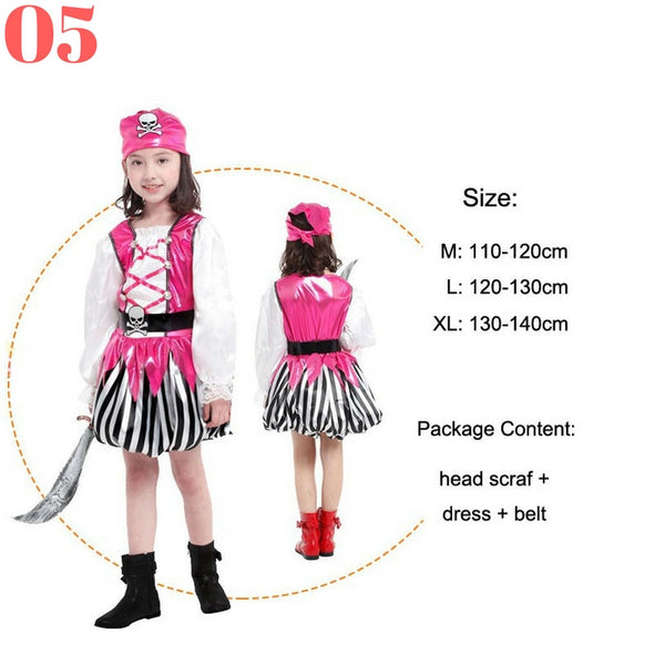 Girls Pirate Costume Sets - Top Seller - 123 Express Shop - 6