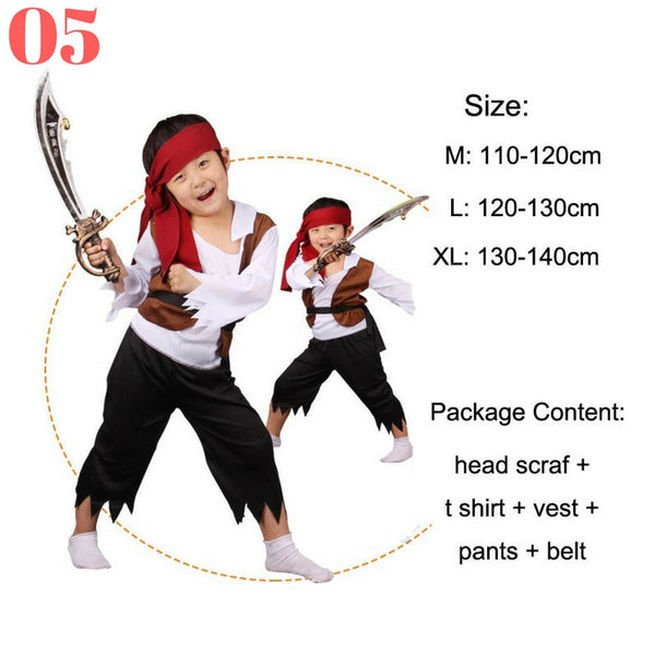 Boys Pirate Costume Sets - Top Seller - 123 Express Shop - 6
