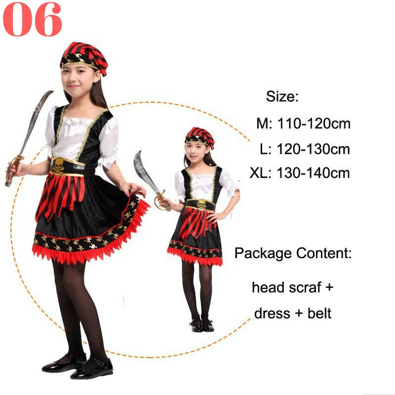 Girls Pirate Costume Sets - Top Seller - 123 Express Shop - 7