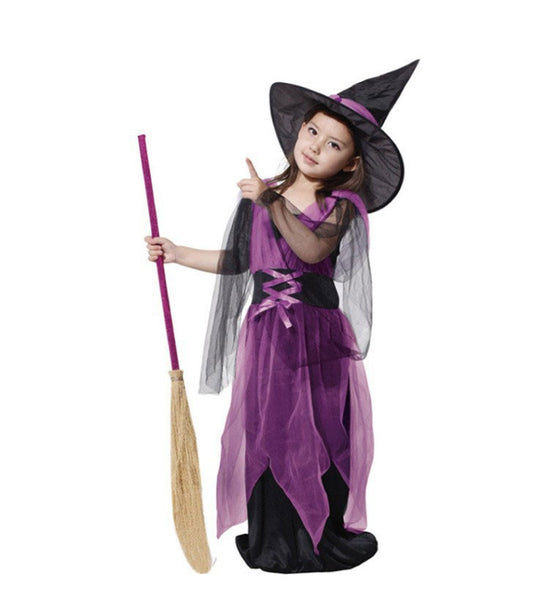 Girls Black Flying Witch Costume - Top Seller - 123 Express Shop - 1