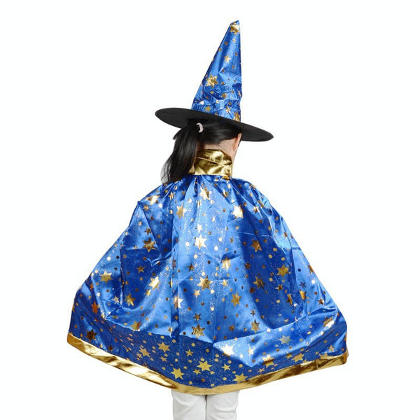 Wizard Cloak Costume - Cloak & Hat Set - 123 Express Shop - 4
