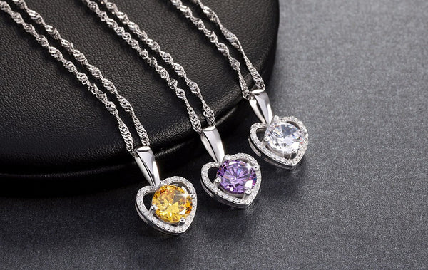 Heart Pendant Necklace - 123 Express Shop - 1