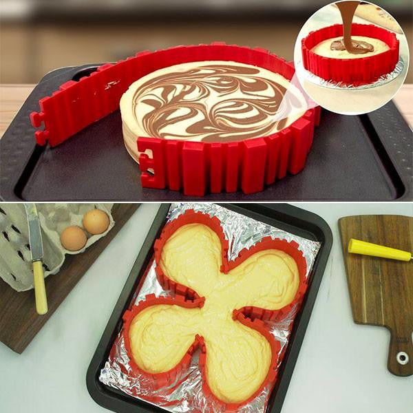 The Baking Mold Snake (4 Piece Set)